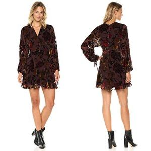 Amanda Uprichard Crystal Burnout Dress